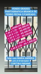 Grades pantografica de janelas e Porta