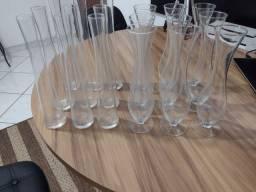 Título do anúncio: 7.00 cada vidro novo tenho 18 peças total