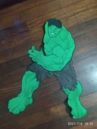 Painel festa enfeite Hulk e Capitão América. AVA