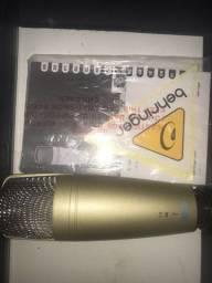 Título do anúncio: C1u behringer condensador USB