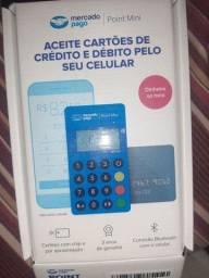 Maquininha point mini aceita pagamento por aproximação