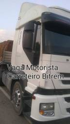Título do anúncio: Vaga Motorista de Bitrem