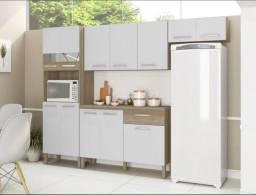 Título do anúncio: Cozinha Compacta Versalhes 4 peças com Balcão - Entrega Imediata!
