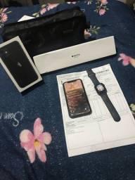 Vendo iPhone  e relógio IPhone