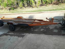 Título do anúncio: Carretinha para canoa de 5 metros