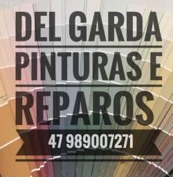 Pintor profissional / prestação de serviços de pintura residencial