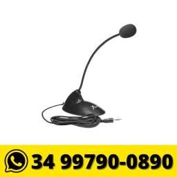 Título do anúncio: Microfone de Mesa para Pc Notebook P2