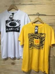 02 camisetas por R$ 50,00 no dinheiro
