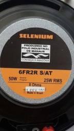 Alto Falante Selenium 6F2R 50 W 25W RMS