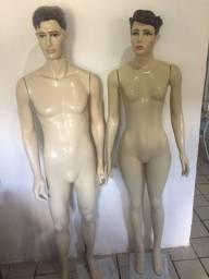 Título do anúncio: Manequim homem e mulher