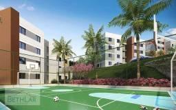 Apartamento em condomínio Clube próximo ao Parque Tingui