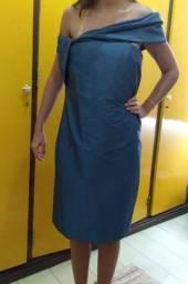 Título do anúncio: Vestido de festa da Maria Bonita Extra (tamanho M)
