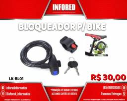 Título do anúncio: Bloqueador para Bike LKBL01- R$30,00