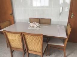 Título do anúncio: Mesa jantar com 6 cadeiras grande