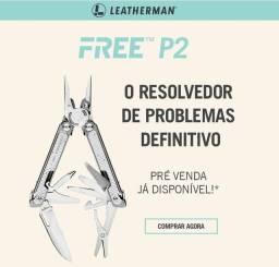 Título do anúncio: Alicate Multifuncional Free P2 Leatherman