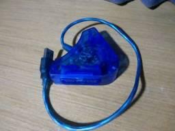 Título do anúncio: Adaptador do PS2 Playstation para usb