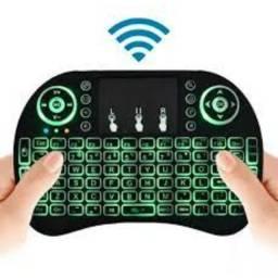 Entrega Grátis - Mini Teclado Keyboard Sem Fio Wireless Iluminado Luz Led - 2