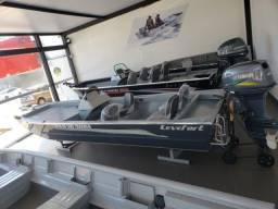 Título do anúncio: Conjunto Completo: Lancha Levefort Apolus 500 Tracker + motor 40AWS Yamaha + carreta