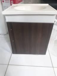 Pia cuba com armário para banhejri