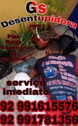 """Título do anúncio: """"DESENTUPIMENTO// PIAS RALOS V.SANITARIOS"""