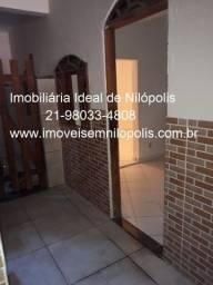 Título do anúncio: Casa 1 quarto no centro de Nilópolis - RJ
