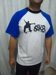 Título do anúncio: Camiseta Radical Skateboard