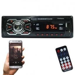 Título do anúncio: Aparelho De Som Carro Automotivo Bluetooth Pendrive Sd Rádio