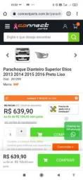 Título do anúncio: Para-choque dianteiro do Etios 2013/2014/2015