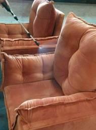 Título do anúncio: Limpeza a seco de sofas