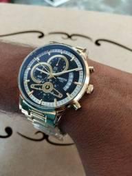 Título do anúncio: Relógio Nibosi 2309-A Dourado