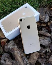 iPhone 7 gold impecável o mais novo da olx apenas 1.299