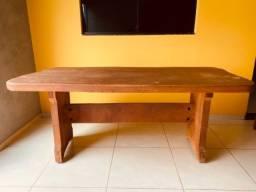 Título do anúncio: Mesa rústica em madeira