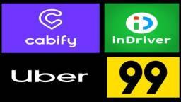 Aluguel carros aplicativos Uber 99 Indrive