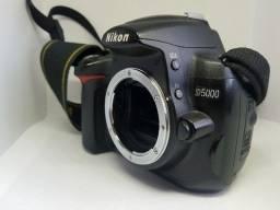 Título do anúncio: D5000 - Câmera Nikon