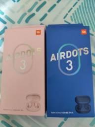Título do anúncio: (xiaomi)Azul e rosa AIRDOTS 3 original