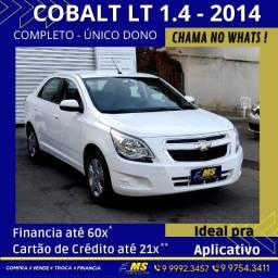Título do anúncio: Cobalt LT 1.4 - 2014 - Troco - Financio até 60x* - Entrada no cartão até 21x**