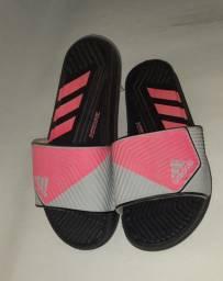 Chinelo slide Adidas rosa n° 34 35