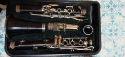 Clarinete 17 chaves Yamaha Sib Nippon Gakki Japan 20