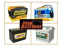 Título do anúncio: Baterias novas entrega e instala