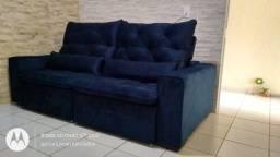 Sofa (retrátil e reclinável) $2.300 a vista ou no prazo em 10 x $249,00