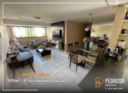 Título do anúncio: Apartamento com 105 m2 - 3 suítes - Green Towers - Candelária - Oportunidade