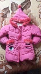 Jaqueta infantil feminina