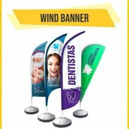 Título do anúncio: Bandeirola - Mídia de Calçada - Big Flag