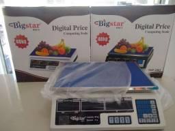 Título do anúncio: Balança pesa 40kg recarregável para comercio