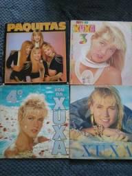 Discos de vinil Xuxa e infantil