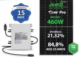 Título do anúncio: Gerador Solar.650 kwh/mês-12 placas 460w-5,52 kwp-3 Micros Deye 2k