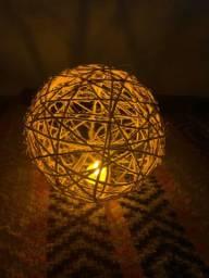Bola decorativa artesanato