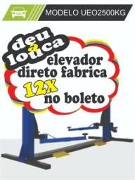 Elevacar direto da fábrica 12x boleto 1380,00 + 11x567,30 oportunidade!!!