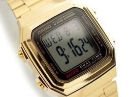 dbb46111847 Relógio Casio Vintage 2 Dourado