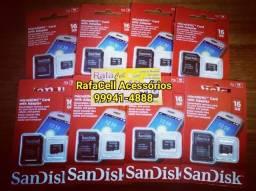 Cartões de memória 16gb sandisk original